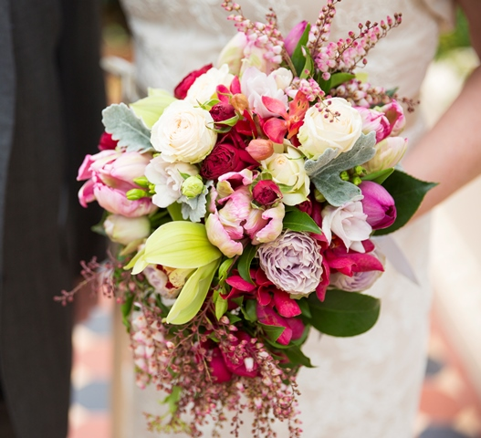 front page wedding flowers
